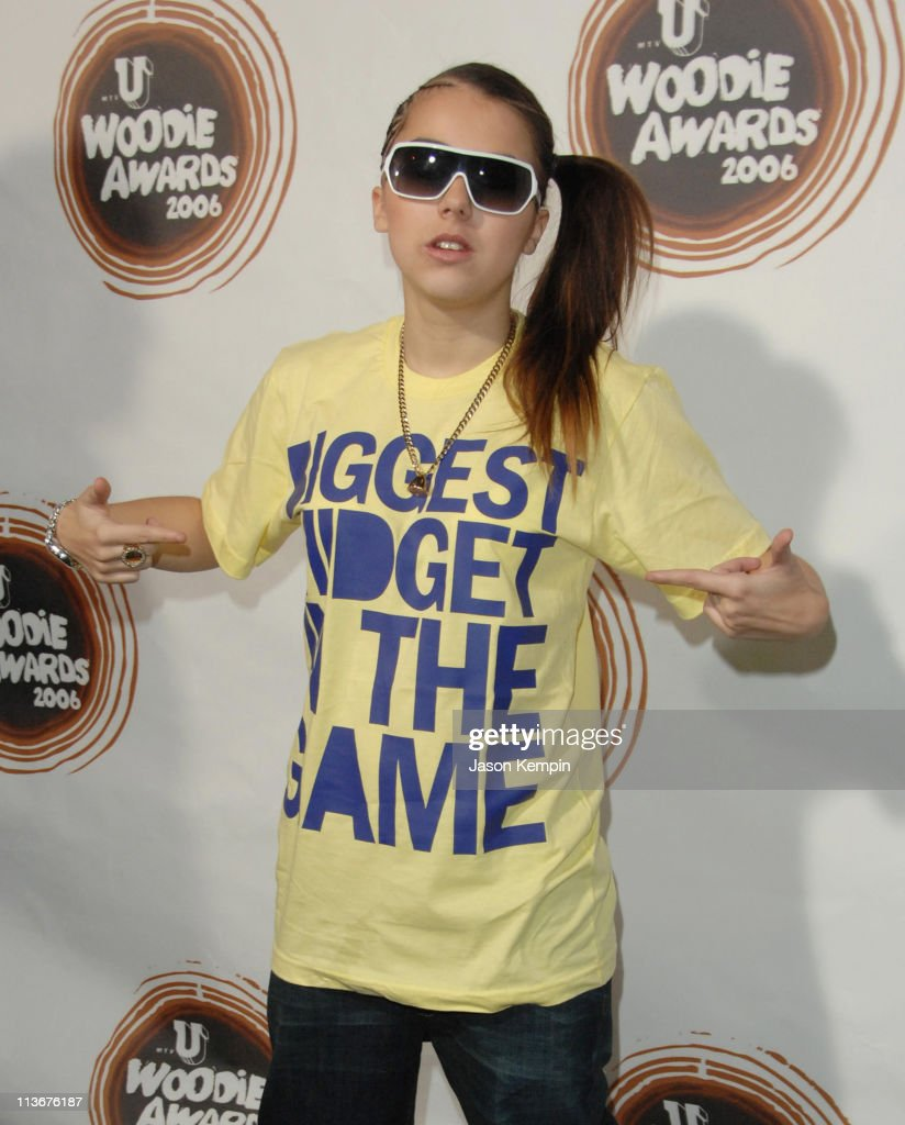 Lady Sovereign during 2006 mtvU Woodie Awards - Arrivals at Roseland Ballroom in New York City, New York, United States.