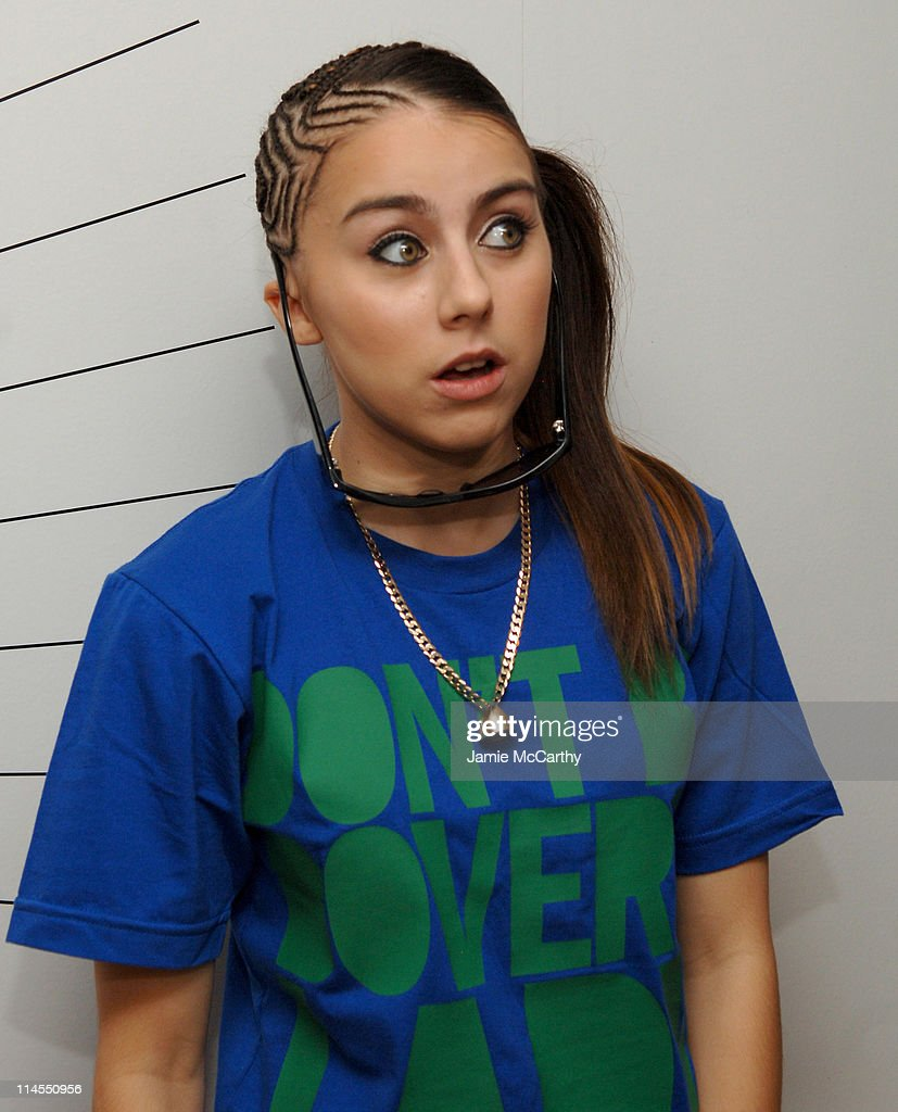Lady Sovereign during Kiss and Lady Sovereign Vist MTV's 'TRL' - October 31, 2006 at MTV Studios Times Square in New York City, New York, United States.