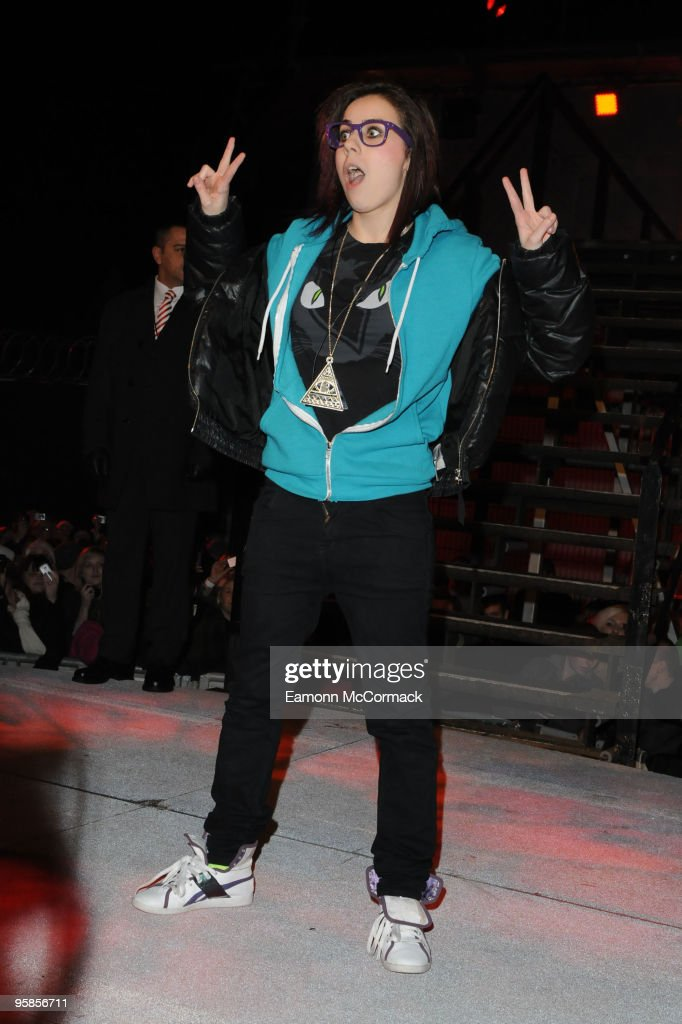Lady Sovereign is the 3rd person evicted from the Celebrity Big Brother House at Elstree Studios on January 18, 2010 in Borehamwood, England.