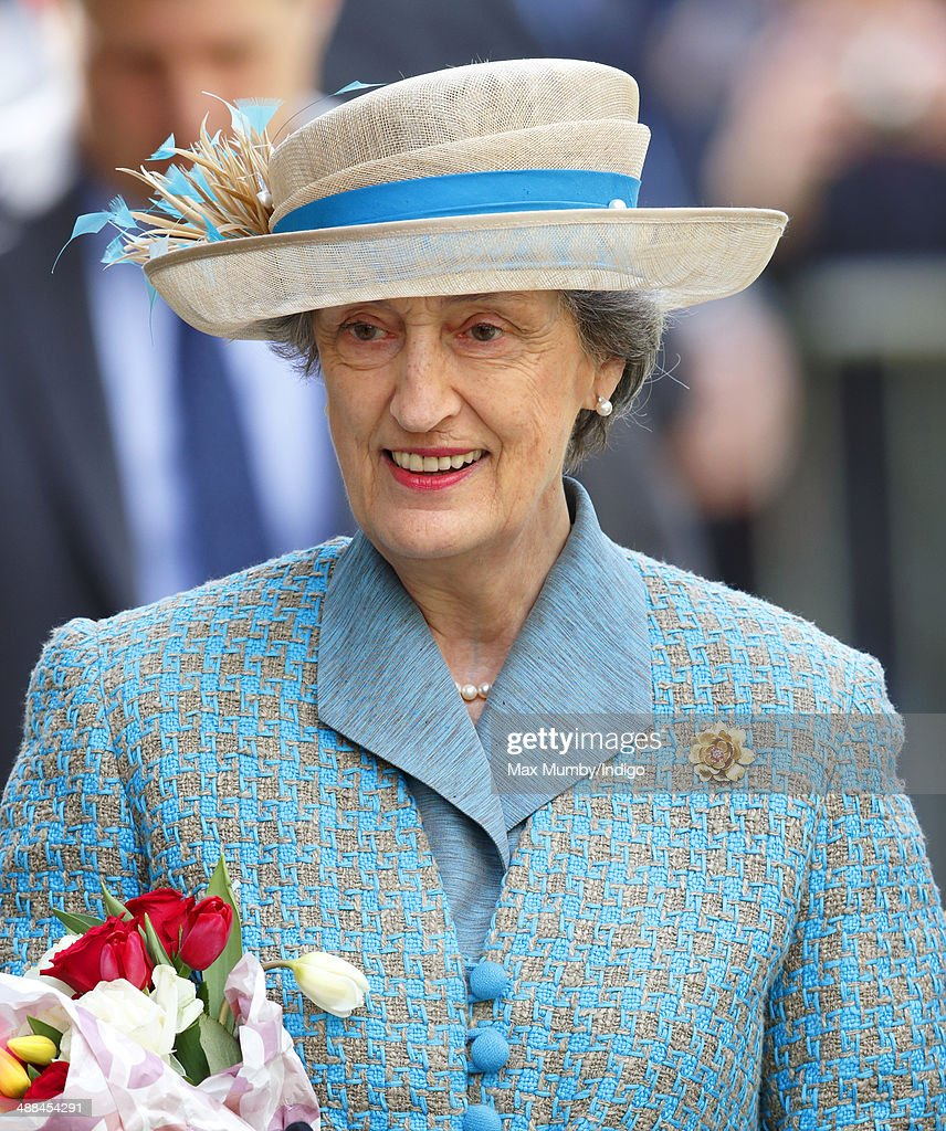 Lady <a gi-track='captionPersonalityLinkClicked' href=/galleries/search?phrase=Susan+Hussey&family=editorial&specificpeople=2574979 ng-click='$event.stopPropagation()'>Susan Hussey</a> (Lady-in-Waiting to Queen Elizabeth II) attends a service at Chelmsford Cathedral as part of the centenary celebrations of Chelmsford Diocese during day of engagements in Essex on May 6, 2014 in Chelmsford, England.