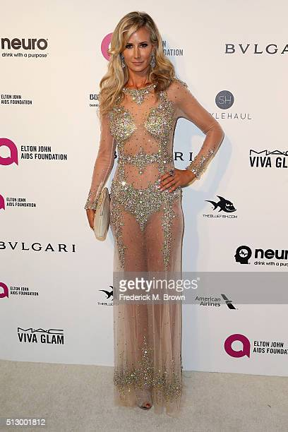 Lady Victoria Harvey attends the 24th Annual Elton John AIDS Foundation's Oscar Viewing Party on February 28 2016 in West Hollywood California