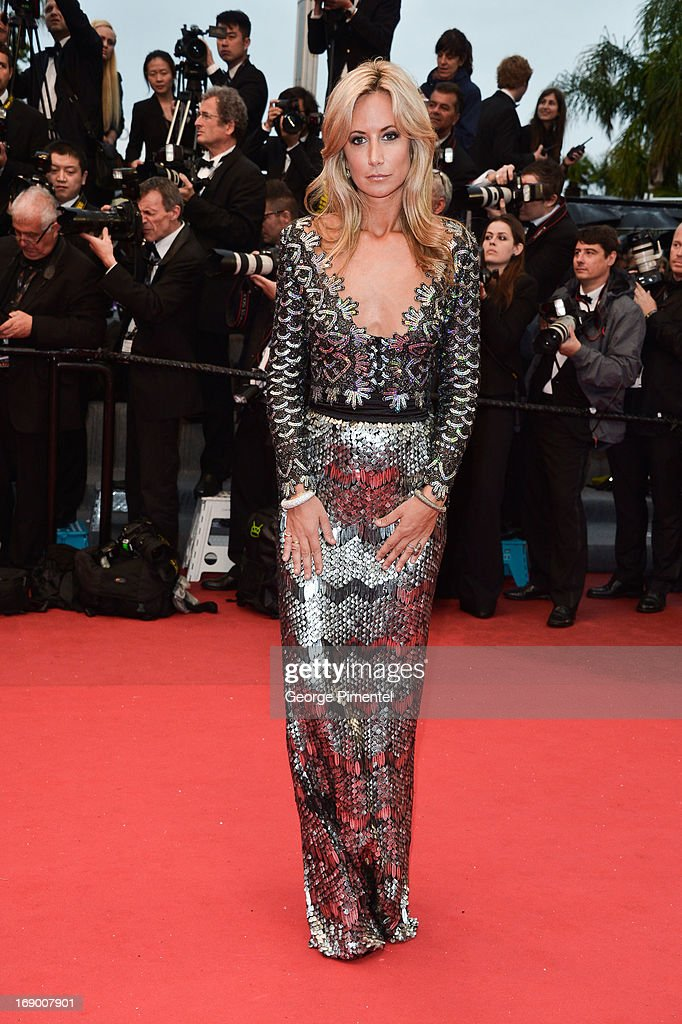 Lady Victoria Harvey attends the Premiere of 'Jimmy P. (Psychotherapy Of A Plains Indian)' at The 66th Annual Cannes Film Festival>> on May 18, 2013 in Cannes, France.