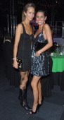 Lady Victoria Hervey and Jasmin Lennard during Capital Rocks Party Inside at Battersea Park Events Arena in London United Kingdom