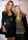 Lady Victoria Hervey and producer/actress Julia Verdin arrive to Jay Sean's album release party presented by Five Four at H Wood on December 2 2009...
