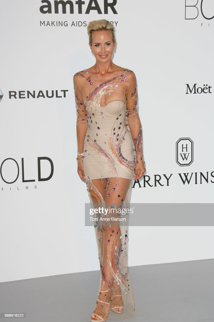 Lady Victoria Hervey arrives at the amfAR Gala Cannes 2017 at Hotel du Cap-Eden-Roc on May 25, 2017 in Cap d'Antibes, France.