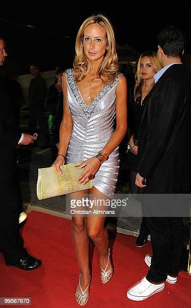 Lady Victoria Hervey arrives at the Quintessentially Members Party on Pegasus Yacht during the 63rd Annual Cannes Film Festival on May 14 2010 in...