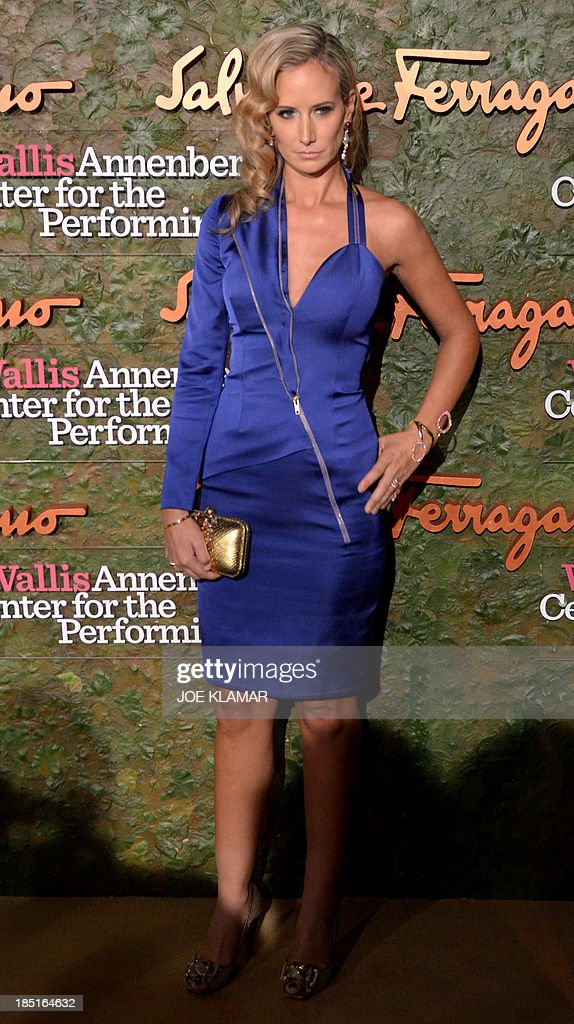 Lady Victoria Hervey arrives at the Wallis Annenberg Center for the Performing Arts Inaugural Gala presented by Salvatore Ferragamo on October 17, 2013 in Beverly Hills, California.