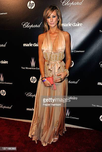 Lady Victoria Hervey arrives at The Weinstein Company's 2012 Golden Globe Awards After Party held at The Beverly Hilton hotel on January 15 2012 in...