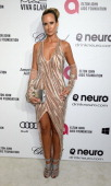 Lady Victoria Hervey arrives for the 22nd Annual Elton John AIDS Foundation's Oscar Viewing Party held at West Hollywood Park on March 2 2014 in West...