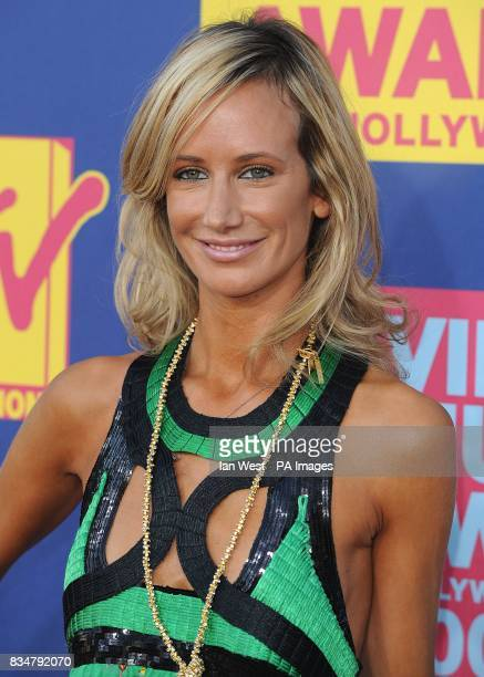Lady Victoria Hervey arrives for the MTV Video Music Awards 2008 at Paramount Studios Hollywood Los Angeles California