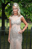 Lady Victoria Hervey arrives for the Serpentine Summer Party at The Serpentine Gallery on July 6 2016 in London England