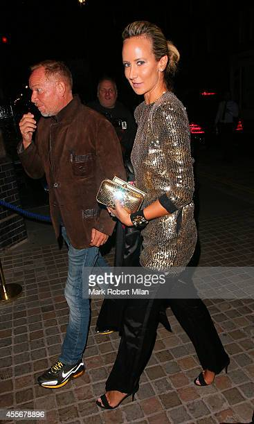 Lady Victoria Hervey at the Chiltern Firehouse on September 18 2014 in London England