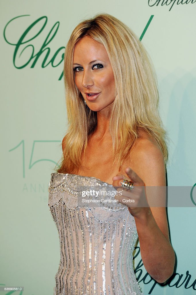 Lady Victoria Hervey at the 'Chopard 150th Anniversary Party' during the 63rd Cannes International Film Festival.