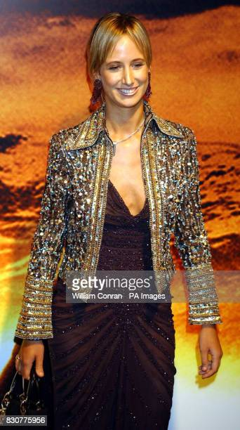Lady Victoria Hervey at the Tobacco Dock in London for the after show party of the world premiere of Lord of the Rings The Fellowship of the Ring
