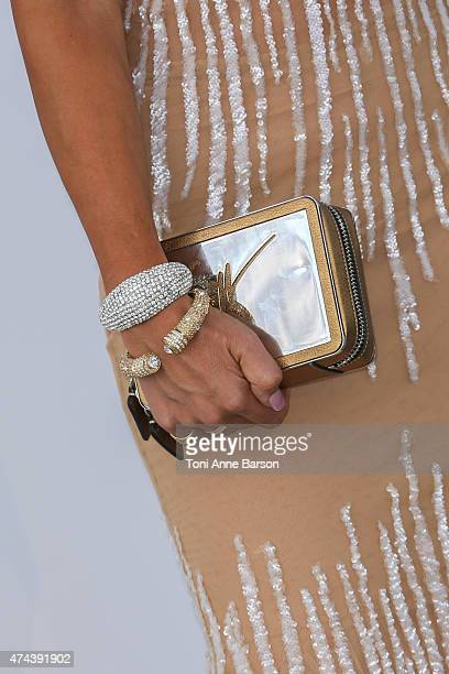 Lady Victoria Hervey attends amfAR's 22nd Cinema Against AIDS Gala Presented By Bold Films And Harry Winston at Hotel du CapEdenRoc on May 21 2015 in...