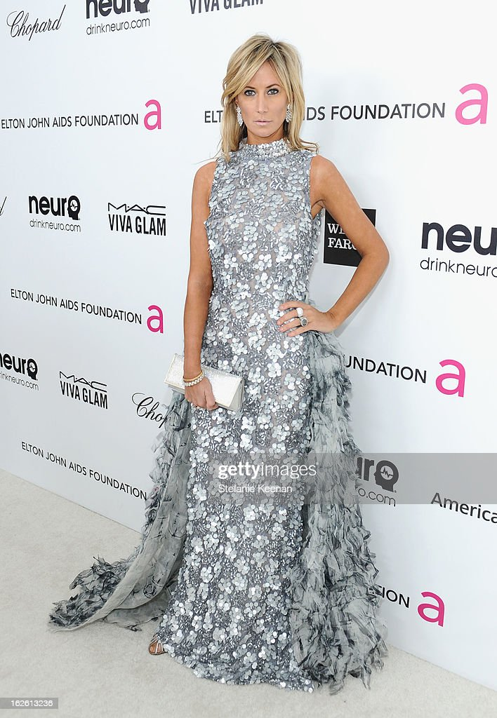 Lady Victoria Hervey attends Chopard at 21st Annual Elton John AIDS Foundation Academy Awards Viewing Party at West Hollywood Park on February 24, 2013 in West Hollywood, California.
