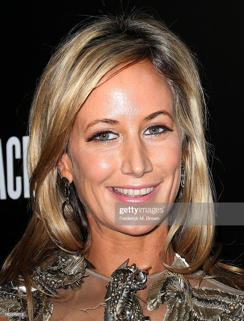 Lady Victoria Hervey attends Hollywood Domino And Bovet 1822 Gala Benefiting Artists For Peace And Justice at the Sunset Tower Hotel on February 21, 2013 in West Hollywood, California.