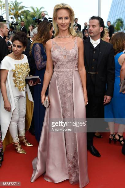 Lady Victoria Hervey attends the 70th Anniversary of the 70th annual Cannes Film Festival at Palais des Festivals on May 23 2017 in Cannes France