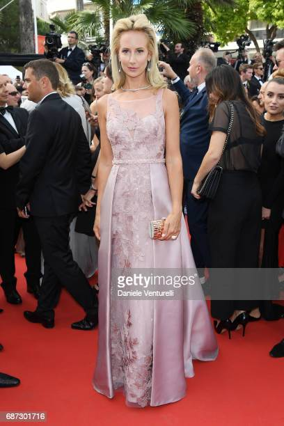 Lady Victoria Hervey attends the 70th Anniversary screening during the 70th annual Cannes Film Festival at Palais des Festivals on May 23 2017 in...