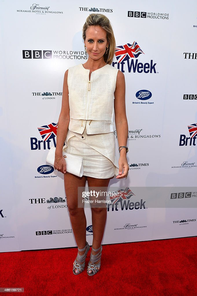 Lady Victoria Hervey attends the 8th Annual BritWeek Launch Party at a private residence on April 22, 2014 in Los Angeles, California.