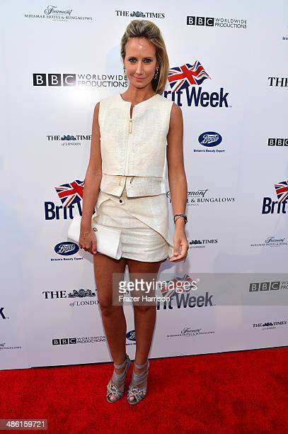 Lady Victoria Hervey attends the 8th Annual BritWeek Launch Party at a private residence on April 22 2014 in Los Angeles California