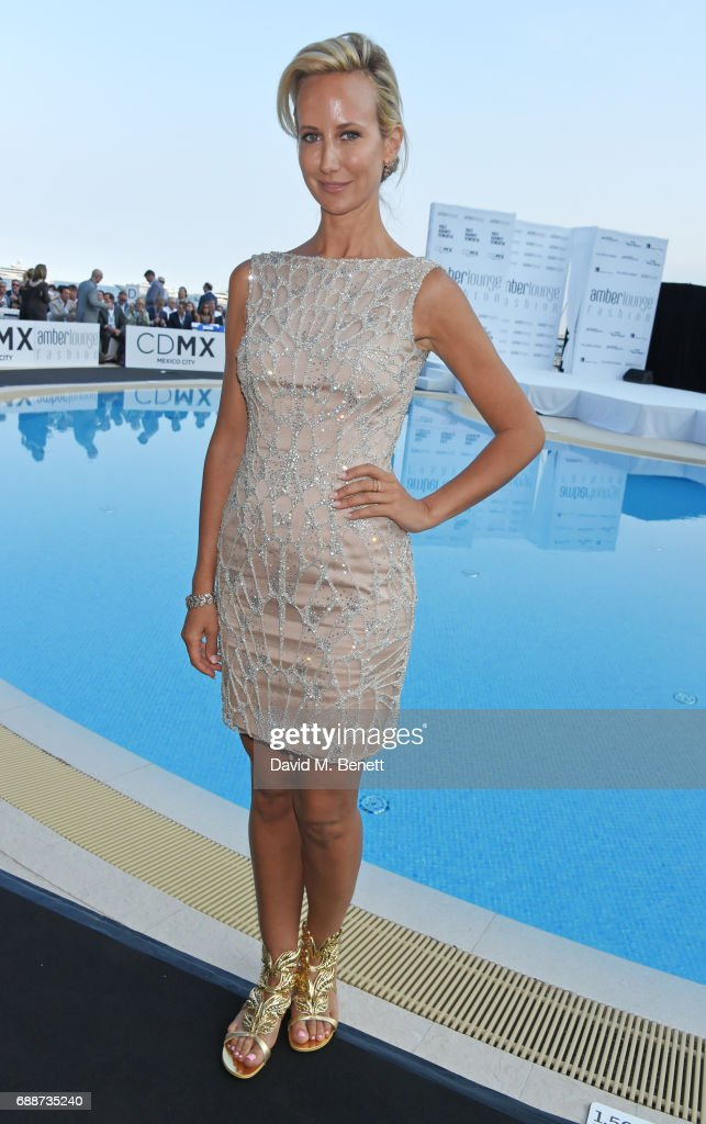 Lady Victoria Hervey attends the Amber Lounge Fashion Monaco 2017 at Le Meridien Beach Plaza Hotel on May 26, 2017 in Monaco, Monaco.