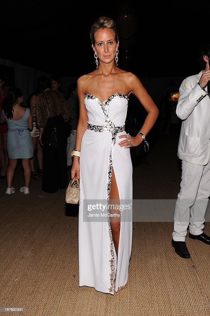 Lady Victoria Hervey attends the amfAR Inspiration Miami Beach Party at Soho Beach House on December 6, 2012 in Miami Beach, Florida.