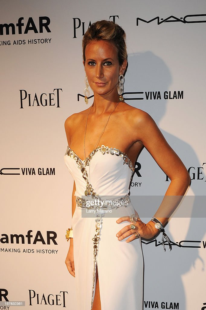 Lady Victoria Hervey attends the amfAR Inspiration Miami Beach Party at Soho Beach House on December 6, 2012 in Miami Beach, Florida.