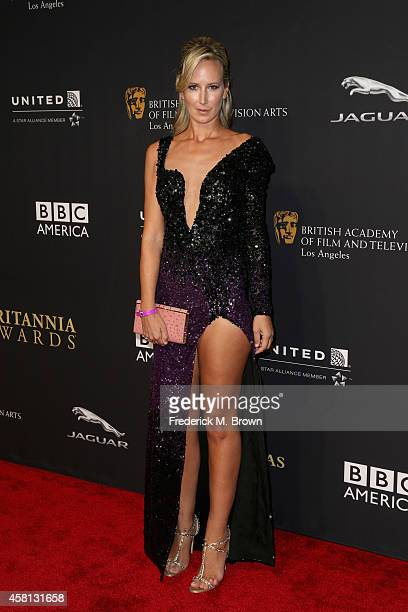 Lady Victoria Hervey attends the BAFTA Los Angeles Jaguar Britannia Awards presented by BBC America and United Airlines at The Beverly Hilton Hotel...