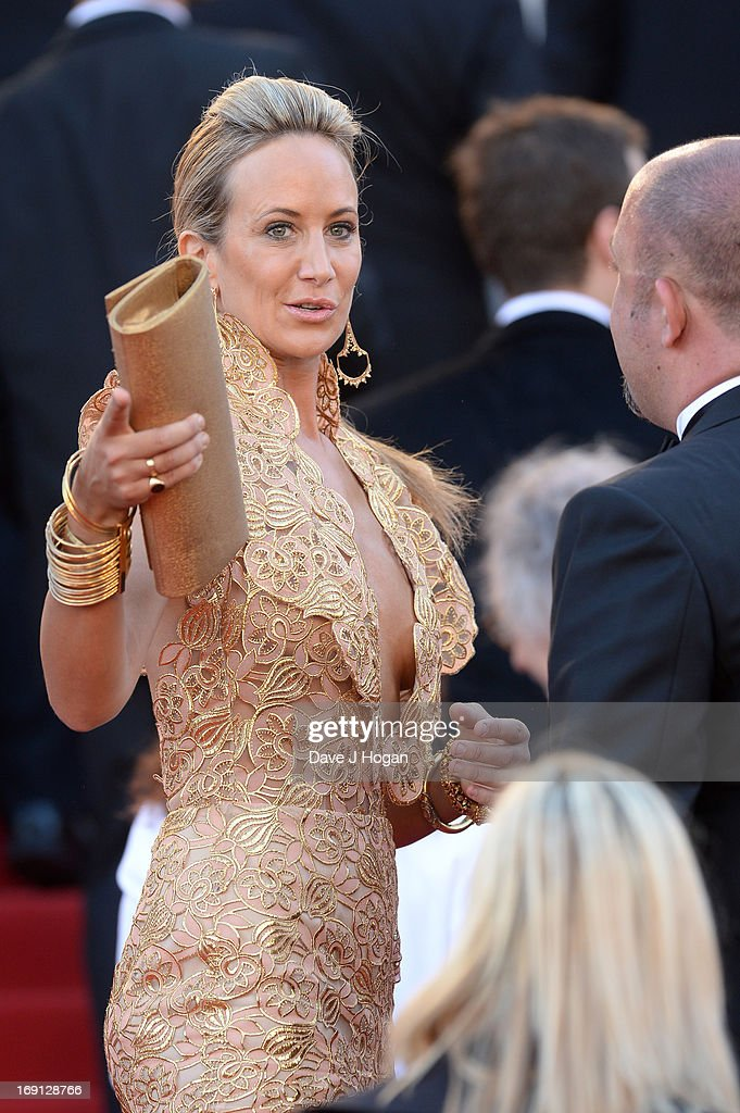 Lady Victoria Hervey attends the 'Blood Ties' Premiere during the 66th Annual Cannes Film Festival at the Palais des Festivals on May 20, 2013 in Cannes, France.
