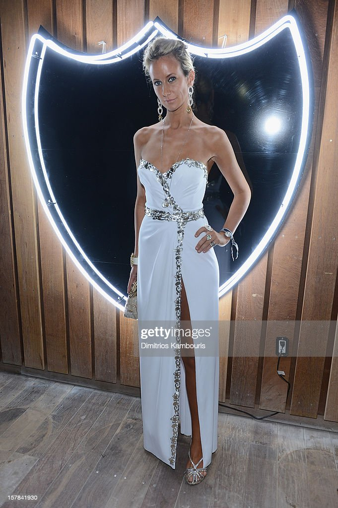 Lady Victoria Hervey attends the celebration of Dom Perignon Luminous Rose at Wall at W Hotel on December 6, 2012 in Miami Beach, Florida.