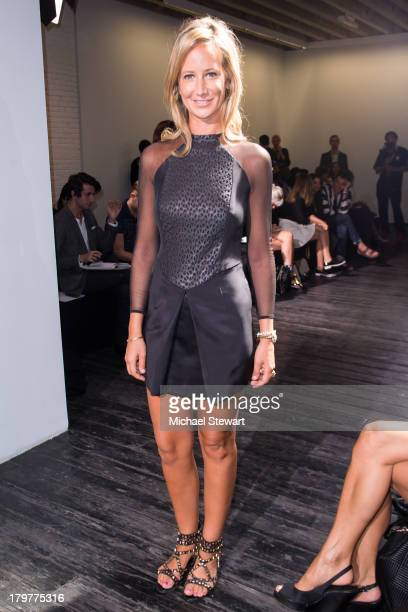 Lady Victoria Hervey attends the Chadwick Bell show during Spring 2014 MercedesBenz Fashion Week at The Hosfelt Gallery on September 6 2013 in New...