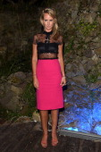 Lady Victoria Hervey attends the Day 1 of Ischia Global Film Music Fest 2014 on July 12 2014 in Ischia Italy