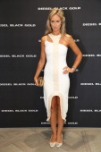 Lady Victoria Hervey attends the Diesel Black Gold Flagship Store Cocktail Party during the London Collections Men SS15 on June 16 2014 in London...