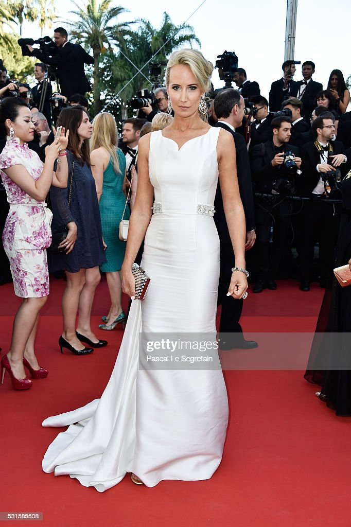Lady Victoria Hervey attends the 'From The Land Of The Moon ' premiere during the 69th annual Cannes Film Festival at the Palais des Festivals on May...