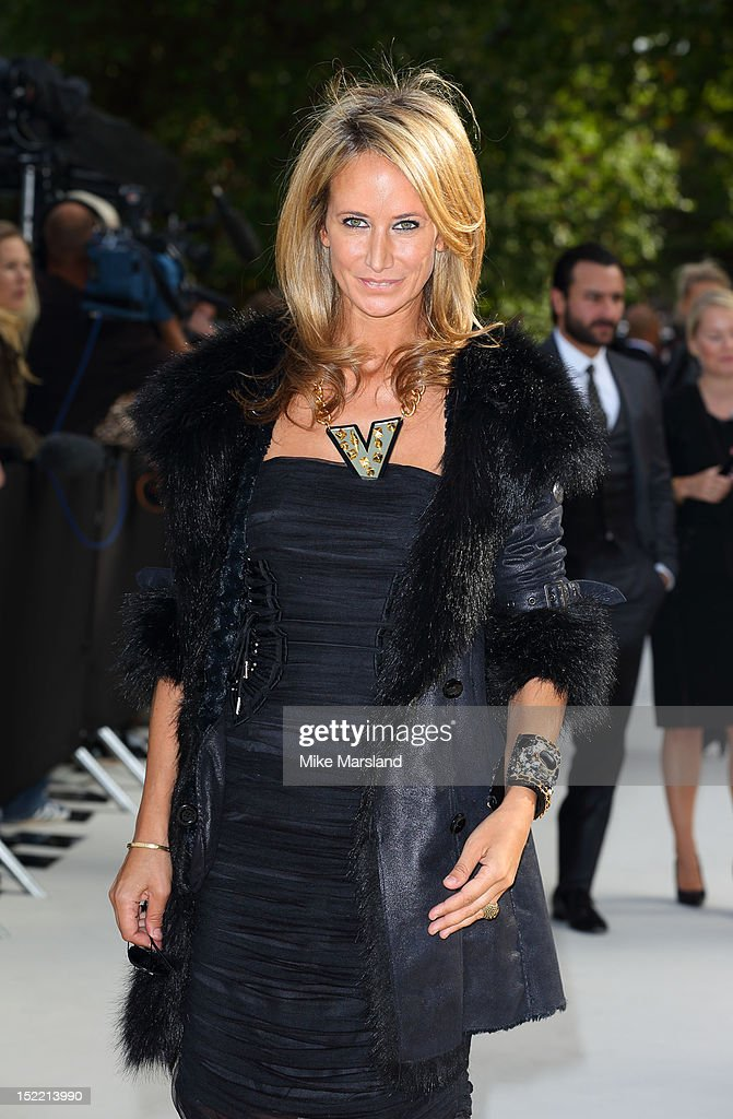 Lady Victoria Hervey attends the front row for the Burberry Prorsum show on day 4 of London Fashion Week Spring/Summer 2013 on September 17, 2012 in London, England.