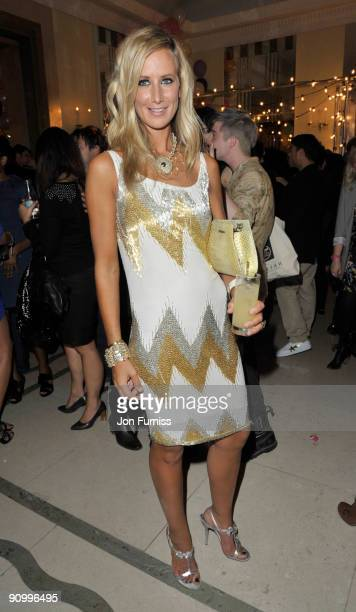Lady Victoria Hervey attends the Mulberry party during London Fashion Week Spring/summer 2010 at Claridge's Hotel on September 20 2009 in London...