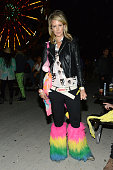 Lady Victoria Hervey attends the NYLON Present Neon Carnival with GUESS event on April 12 2014 in Thermal California