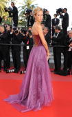 Lady Victoria Hervey attends the 'Of Gods and Men' Premiere held at the Palais des Festivals during the 63rd Annual International Cannes Film...