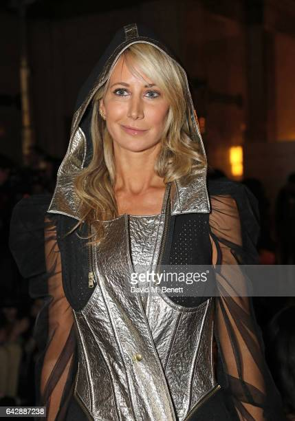 Lady Victoria Hervey attends the Pam Hogg show during the London Fashion Week February 2017 collections at Freemasons Hall on February 19 2017 in...