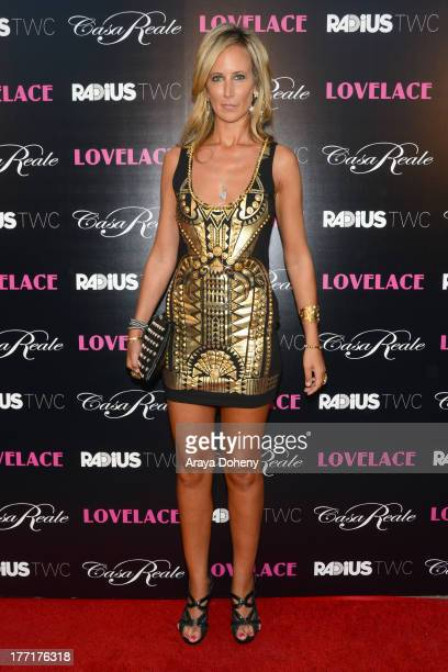 Lady Victoria Hervey attends the premiere of RADiUSTWC's 'Lovelace' at the Egyptian Theatre on August 5 2013 in Hollywood California