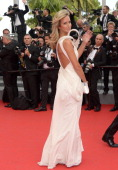 Lady Victoria Hervey attends 'The Search' Premiere at the 67th Annual Cannes Film Festival on May 21 2014 in Cannes France