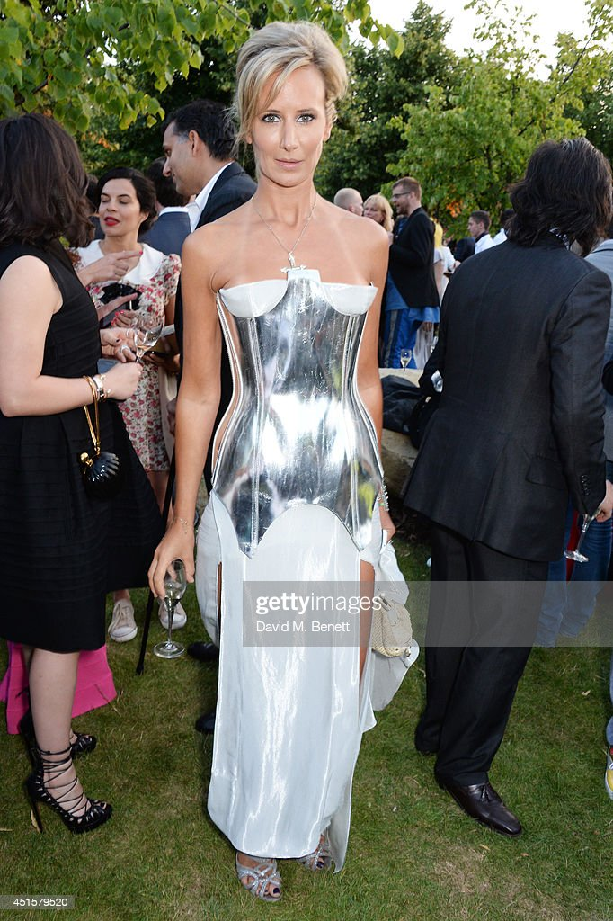 Lady Victoria Hervey attends The Serpentine Gallery Summer Party co-hosted by Brioni at The Serpentine Gallery on July 1, 2014 in London, England.