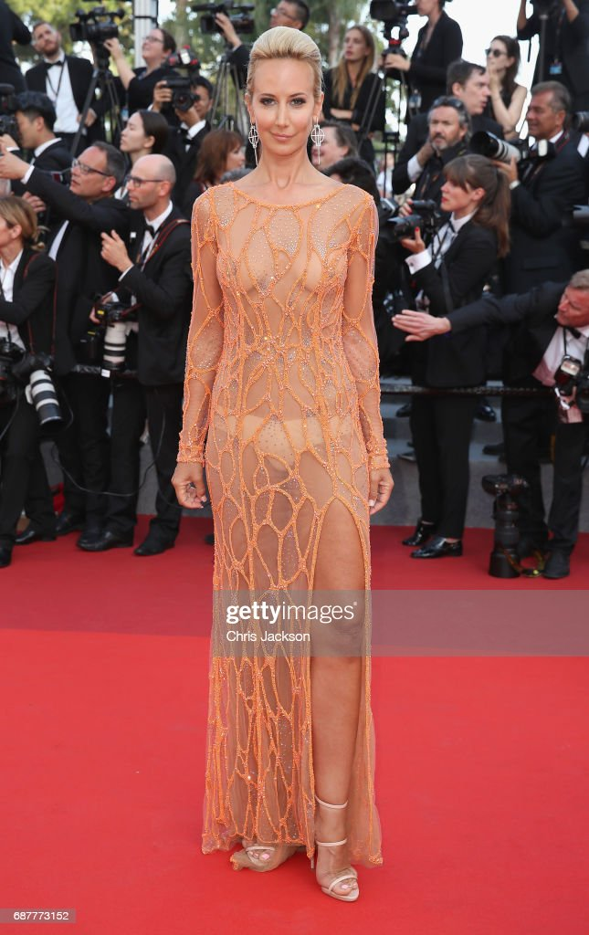 Lady Victoria Hervey attends the 'The Beguiled' screening during the 70th annual Cannes Film Festival at Palais des Festivals on May 24, 2017 in Cannes, France.