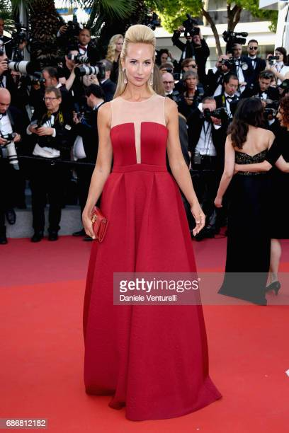 Lady Victoria Hervey attends the 'The Killing Of A Sacred Deer' screening during the 70th annual Cannes Film Festival at Palais des Festivals on May...