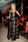 Lady Victoria Hervey attends the Vivienne Westwood show as part of the Paris Fashion Week Womenswear Spring/Summer 2014 at Le Centorial on September...