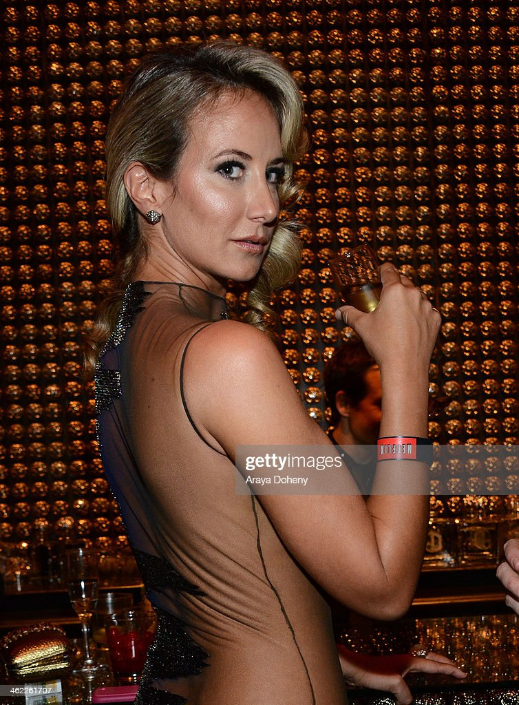 Lady Victoria Hervey attends The Weinstein Company & Netflix's 2014 Golden Globes After Party presented by Bombardier, FIJI Water, Lexus, Laura Mercier, Marie Claire and Yucaipa Films at The Beverly Hilton Hotel on January 12, 2014 in Beverly Hills, California.