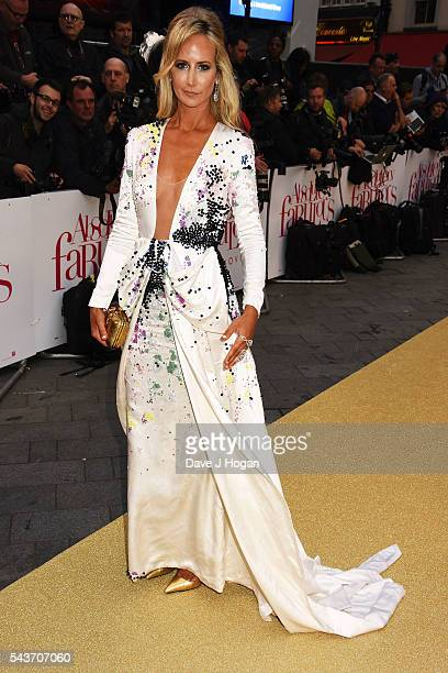 Lady Victoria Hervey attends the World Premiere of 'Absolutely Fabulous The Movie' at Odeon Leicester Square on June 29 2016 in London England