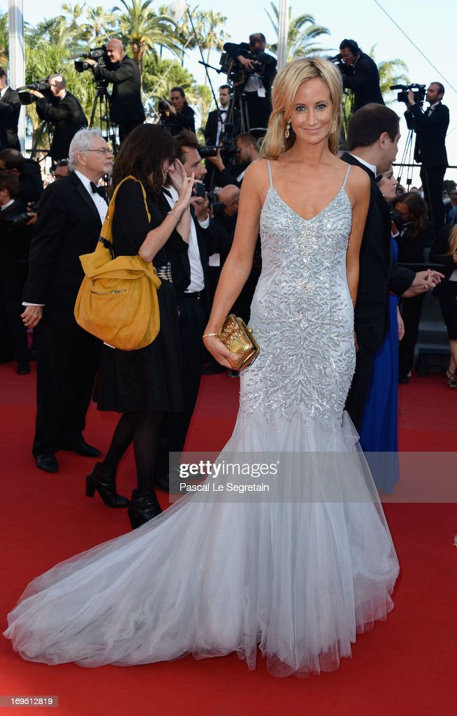 Lady Victoria Hervey attends the 'Zulu' Premiere and Closing Ceremony during the 66th Annual Cannes Film Festival at the Palais des Festivals on May 26, 2013 in Cannes, France.
