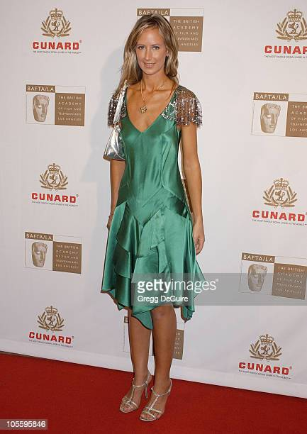 Lady Victoria Hervey during 2005 BAFTA/LA Cunard Britannia Awards Arrivals at Beverly Hilton Hotel in Beverly Hills California United States